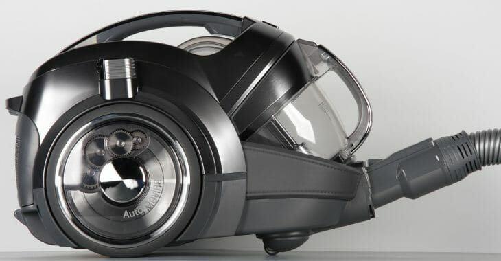 Пылесос LG мощностью 2000 Ватт с системой прессования пыли