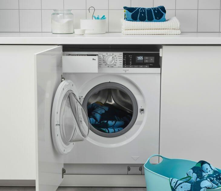 Встраиваемая стиральная машина с инверторным двигателем