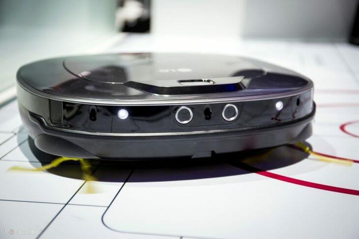Датчики движения робота-пылесоса LG