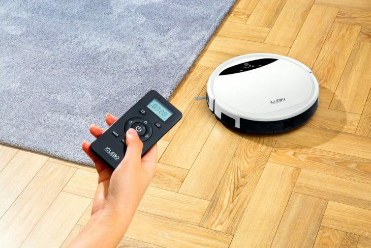 Дистанционное управление роботом-пылесосом iClebo