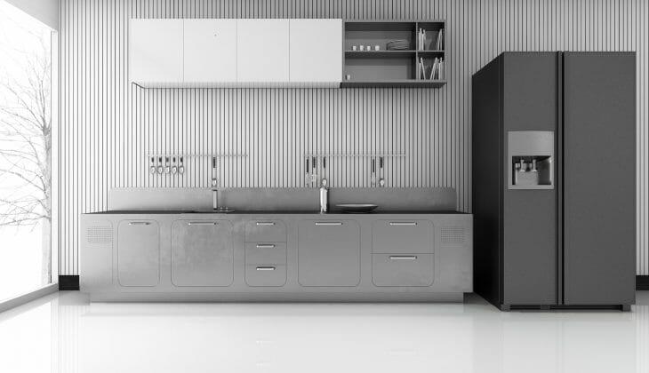 Холодильник с французской дверью