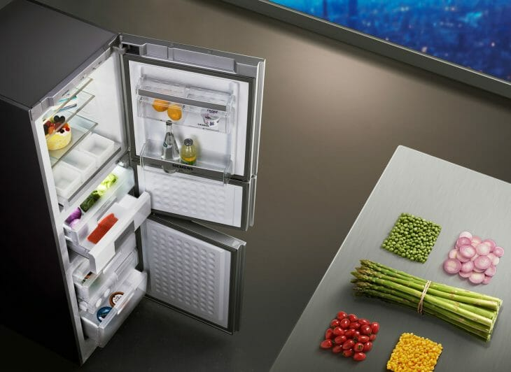 Холодильник Siemens вид сверху
