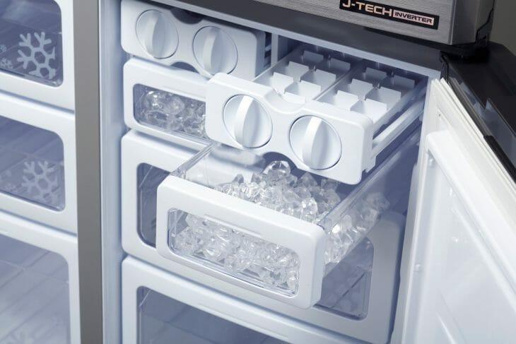 Холодильник Sharp с J tech inverter