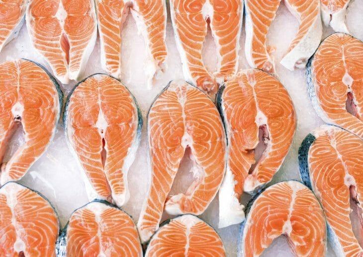 Мороженная рыба
