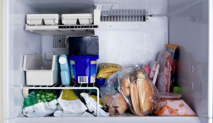 Морозилка холодильника