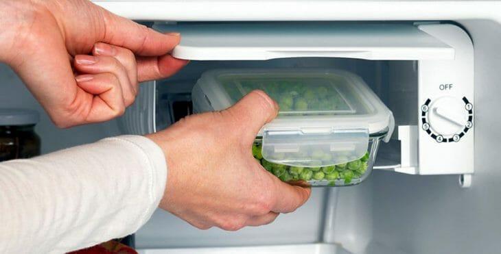 Морозильный отсек холодильника Candy