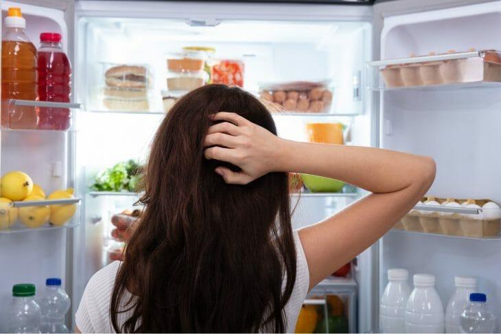 Открытый холодильник Daewoo