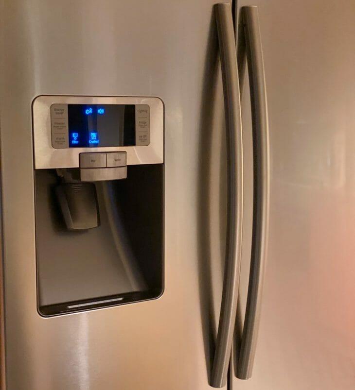 Панель управления холодильником Sharp