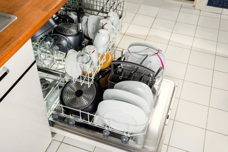 Правильная установка посуды в посудомоечную машину Bosch