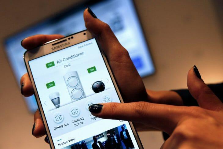 Приложение Samsung для управления кондиционером