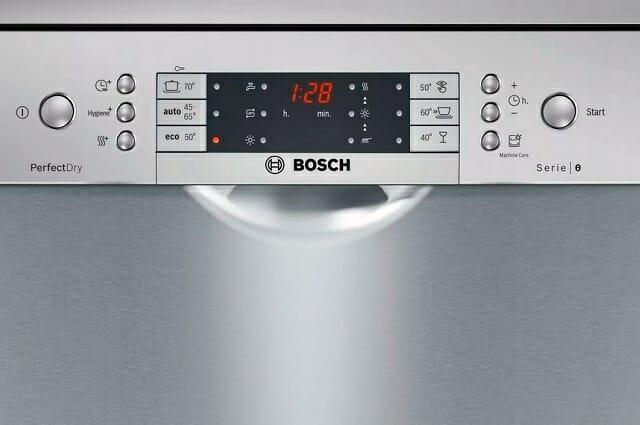 Информационный дисплей посудомоечной машинки Bosch