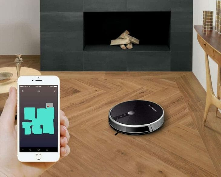 Робот-пылесос Liectroux с управлением со смартфона