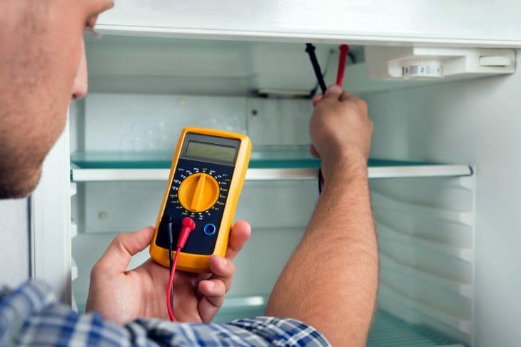 Тестирование электроники холодильника