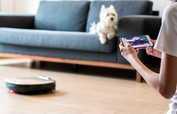 Управление роботом-пылесосом LG со смартфона