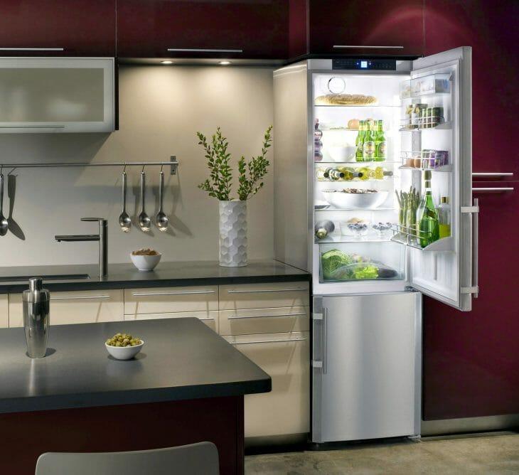 Узкий холодильник Dexp