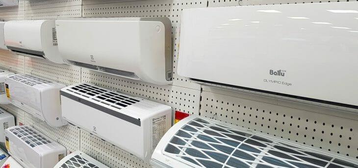 В магазине сплит-систем