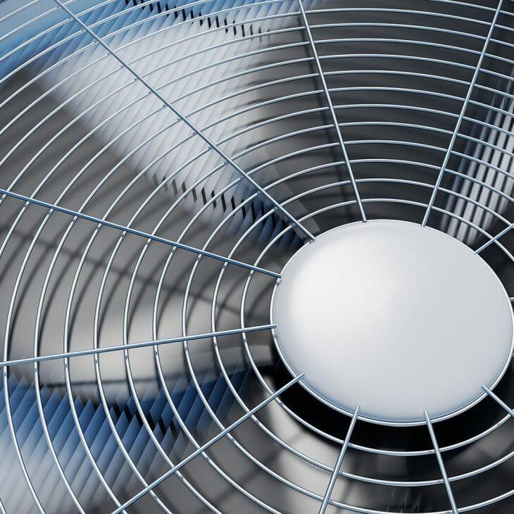 Вентилятор внешнего блока сплит-системы Kraft