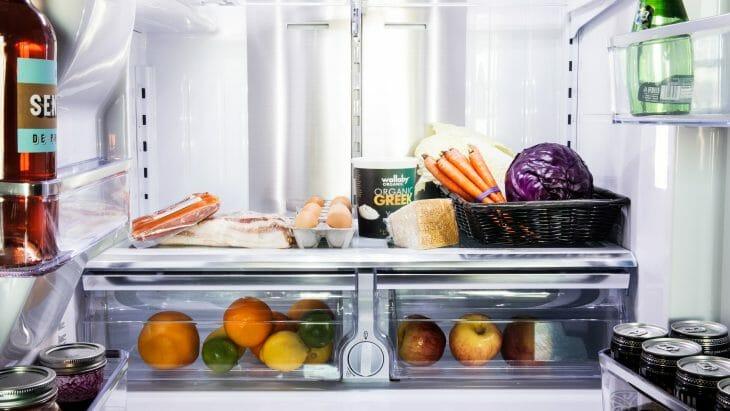 Зона свежести холодильника Vestfrost
