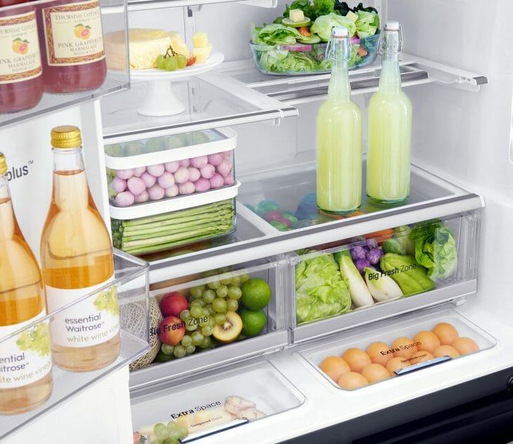 Зона свежести в холодильнике No frost