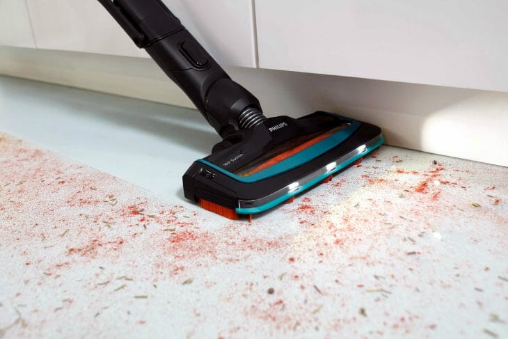 Аккумуляторный пылесос для кухни