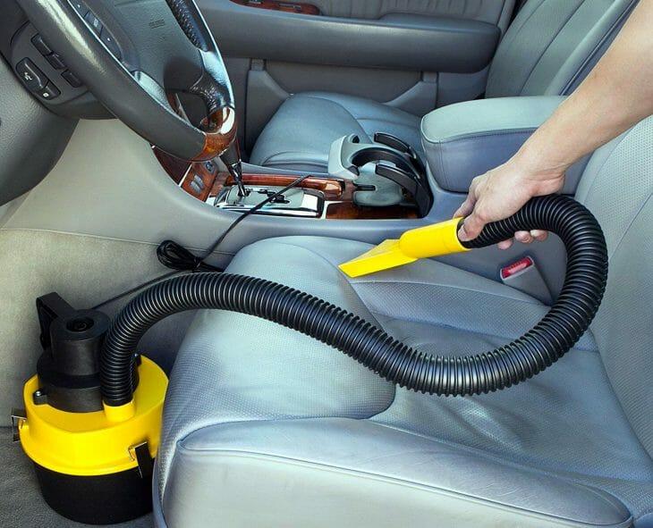 Автомобильный пылесос циклонного типа