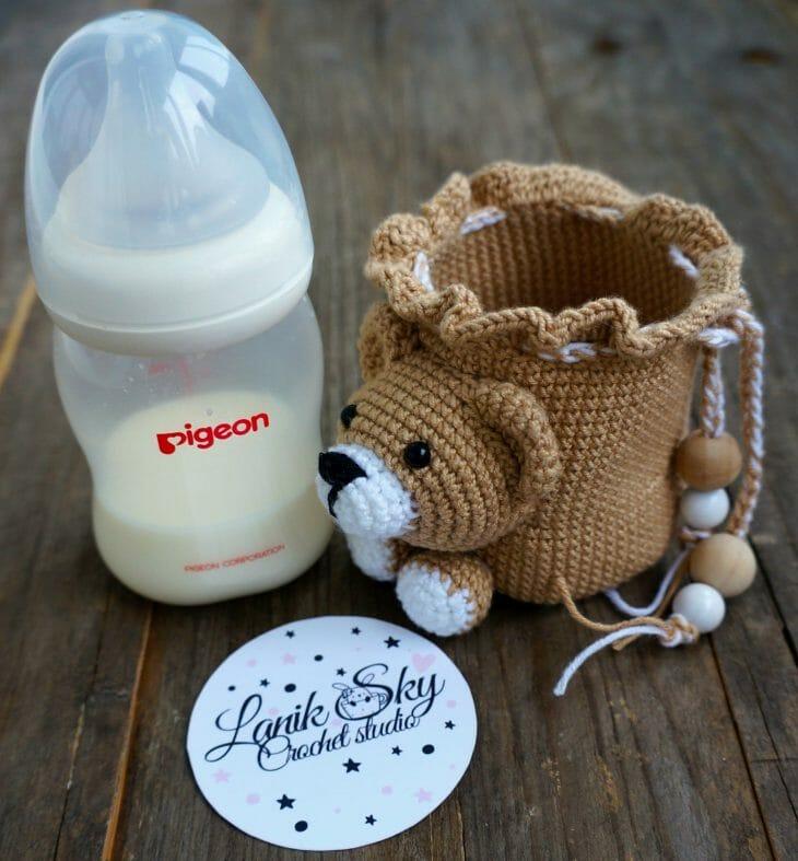 Детская бутылочка для молока