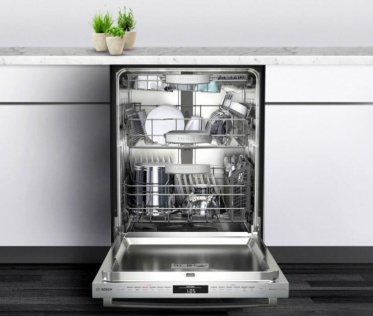 Дисплей посудомойки Bosch