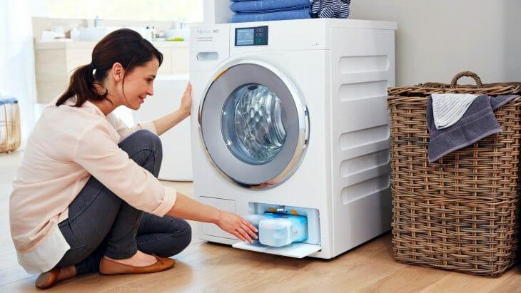 Энергоэффективная стиральная машина с инверторным двигателем
