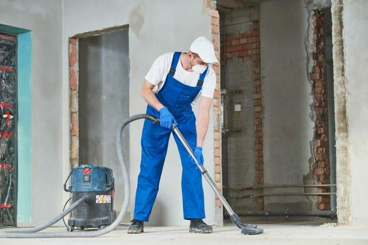 Использование промышленного пылесоса