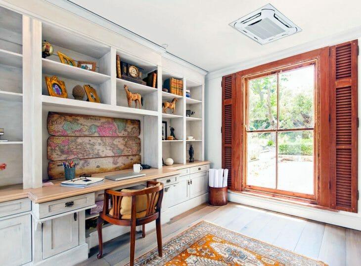 Комната с потолочной сплит-системой MDV