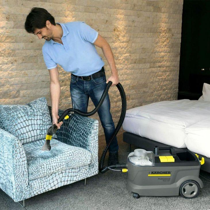 Моющий пылесос Karcher для мягкой мебели