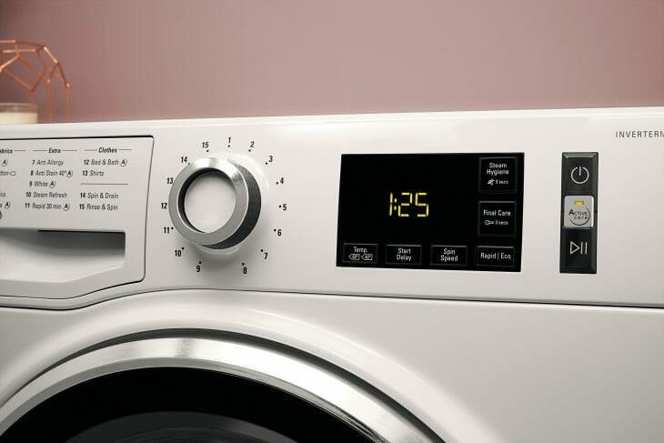 Панель управления стиральной машиной с инверторным двигателем
