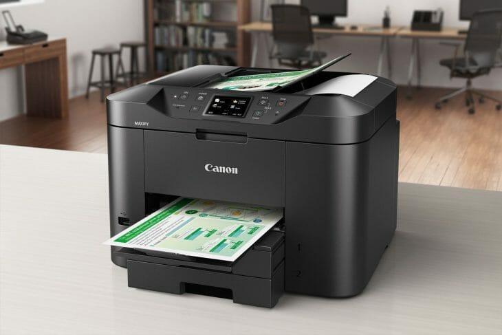 Цветной лазерный принтер Canon