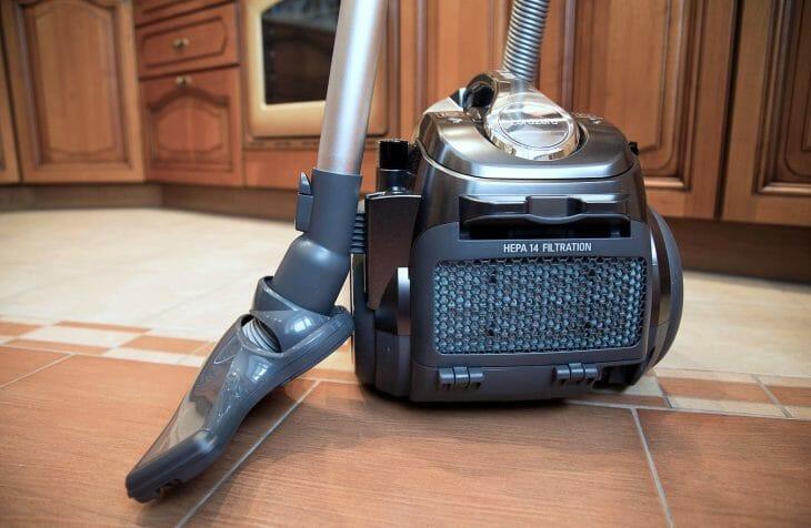 Пылесос LG Kompressor с фильтром HEPA14