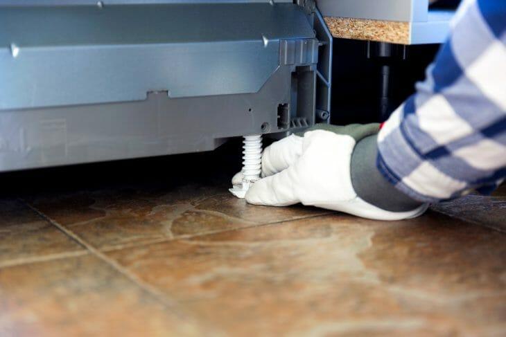 Регулируемые ножки посудомоечной машины Bosch
