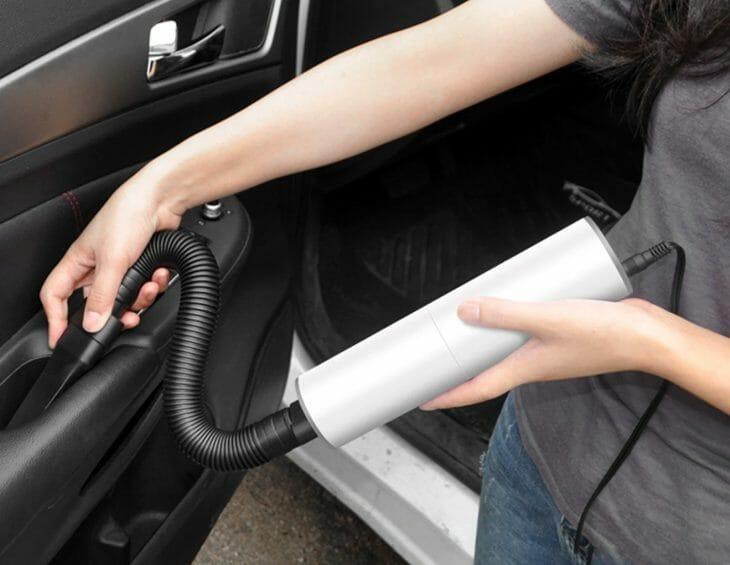 Автомобильный пылесос работающий от прикуривателя
