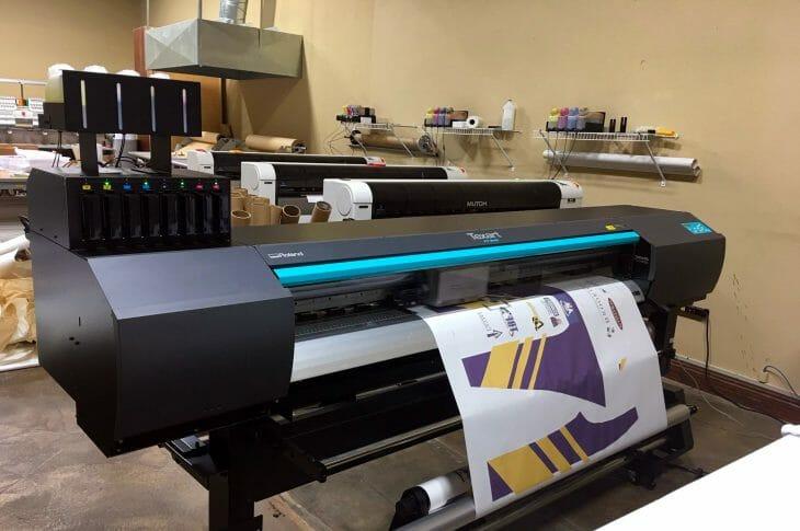 Широкоформатный сублимационный принтер