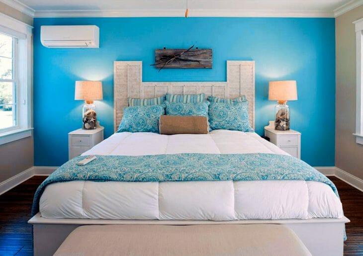 Сплит-система Green в спальне
