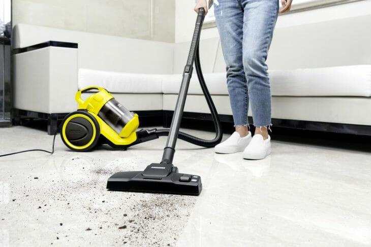 Циклонный пылесос Karcher для сухой уборки