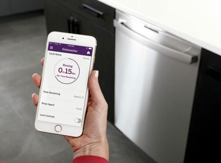 Управление посудомойкой Bosch через смартфон
