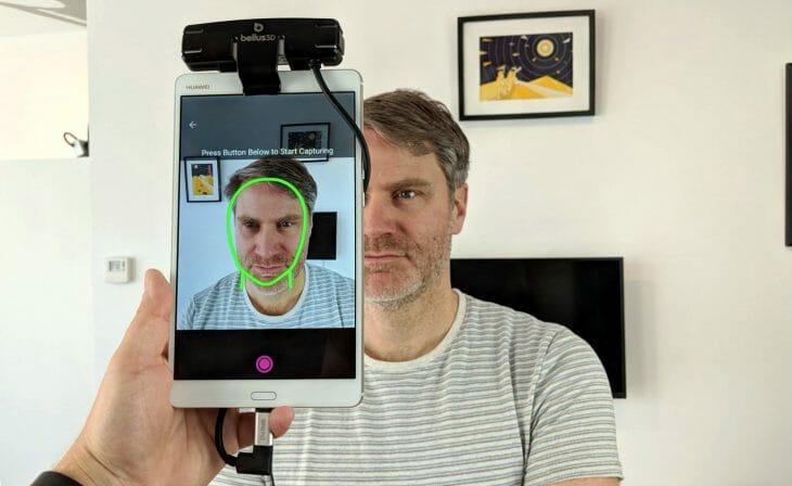 3D сканер лица