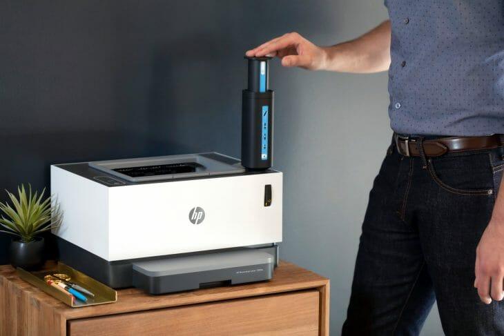 Функциональный лазерный принтер HP
