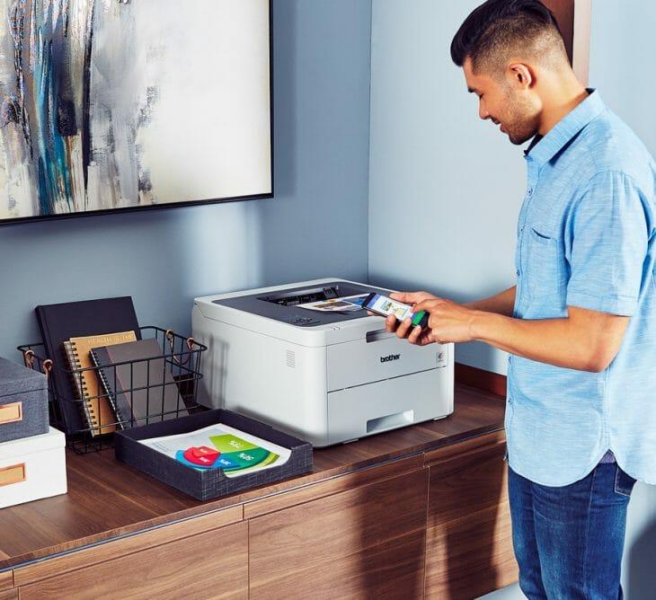 Габаритный принтер для домашнего использования