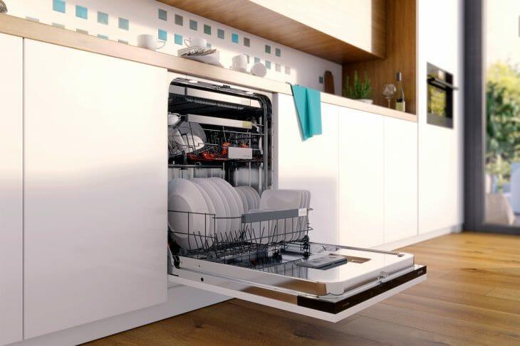 Гармонично встраиваемая в интерьер посудомойка