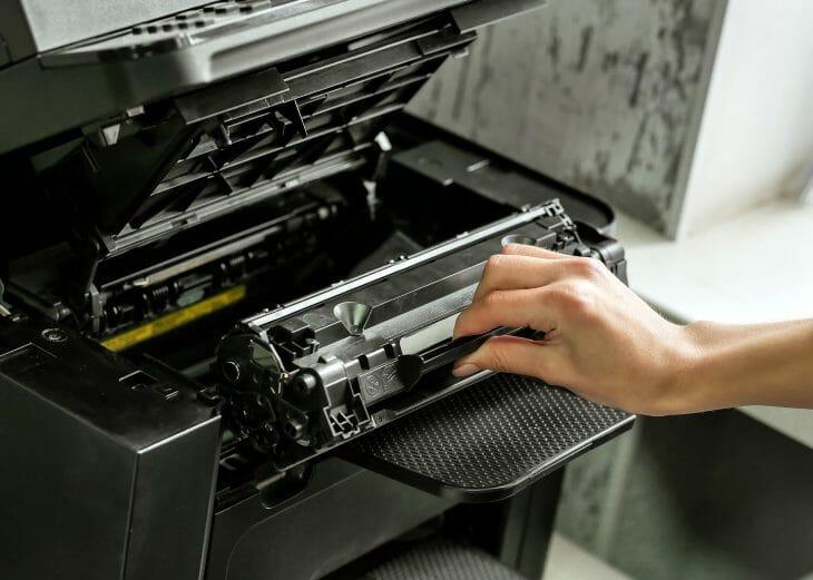 Картридж монохромного лазерного принтера