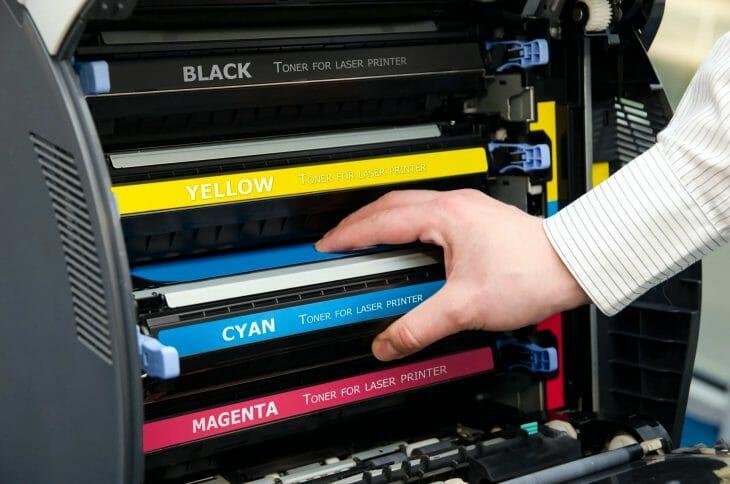 Картриджи цветного лазерного принтера