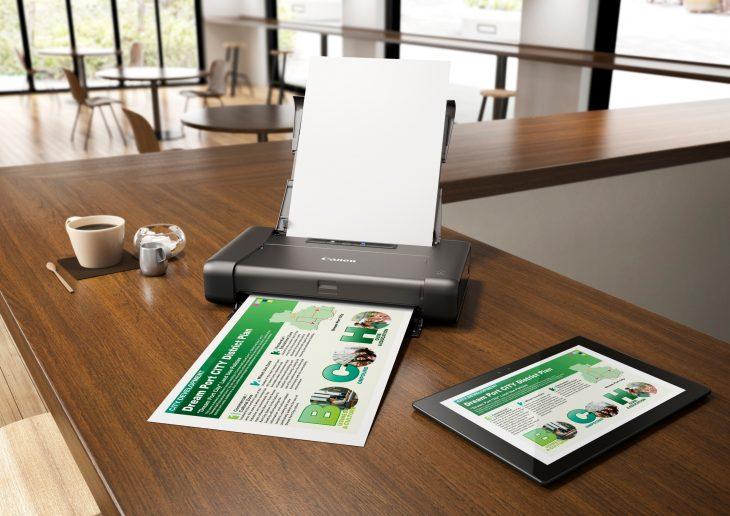 Компактный принтер с Wi-Fi