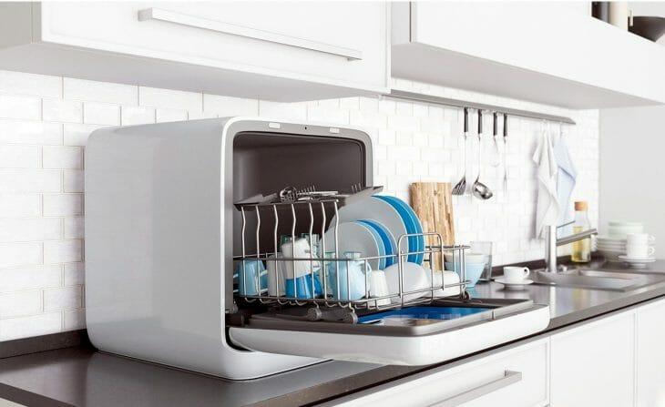 Конденсационная сушка в настольной посудомоечной машине Midea
