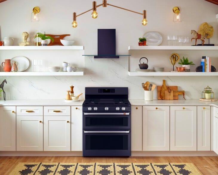 Кухня с интегрированной посудомойкой
