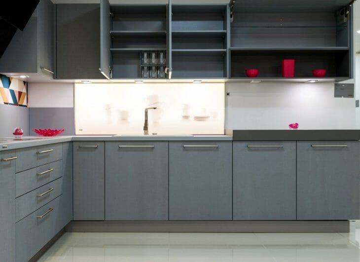 Кухонный гарнитур с встраиваемой ПММ Kuppersberg